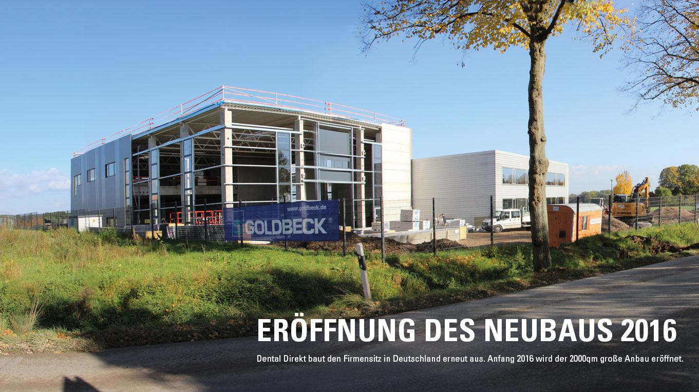 Erneuter Ausbau des Firmensitzes in Deutschland